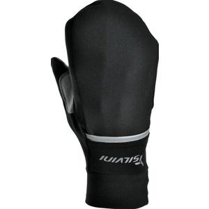 Unisex Handschuhe Silvini Isonzo UA905 black-neon, Silvini