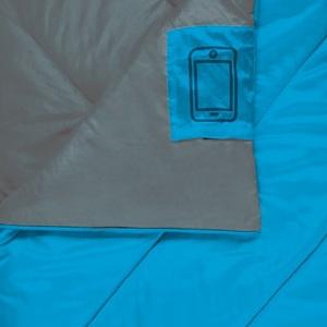 Schlaf Sack Decke Spokey COZY II blau, Spokey