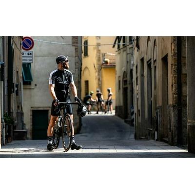Radsport Cap unter Helm Rogelli RETRO, schwarz-weiß 009.966, Rogelli