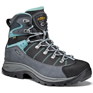 Schuhe Asolo Revert GV ML grau / rotguss / pool side/A177, Asolo