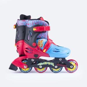 In-line Skates Spokey BUDDY blau und rot, Spokey