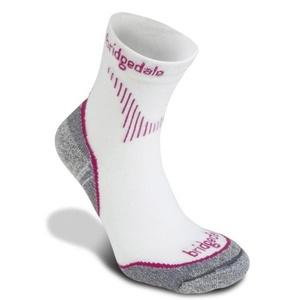 Socken Bridgedale CoolFusion Run QW-ik Women's ML dunkel pink/303, bridgedale