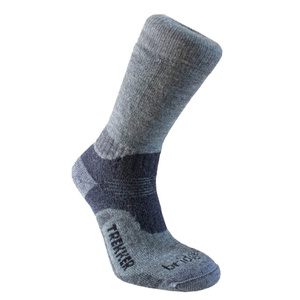 Set socken Bridgedale Trekker 21st Year Twinpack Women's ML silver/black/852, bridgedale