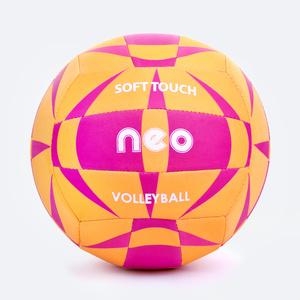 Volleyball Ball Spokey NEO SOFT gelb-rosa, Spokey