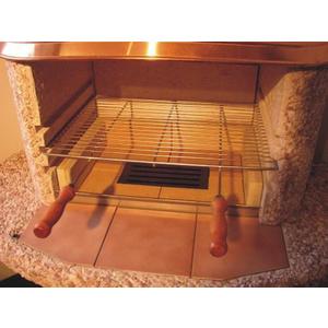 Grill- Rost NormaN Kamin 53x38x0,6 cm 210201.037, NormaN