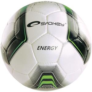 Fußball Ball Spokey ENERGY weiß/grün vel.4, Spokey