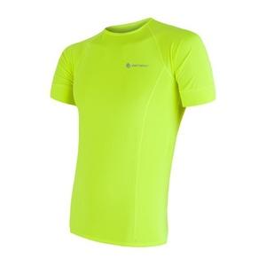Herren T-Shirt Sensor Coolmax Fresh yellow reflex 17100004, Sensor