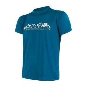 Herren T-Shirt Sensor COOLMAX FRESH PT Gebirge saphir 17100011