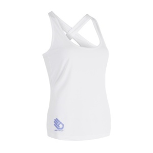 Damen Tank Top/Shirt Sensor COOLMAX FRESH PT HAND white 17100032, Sensor