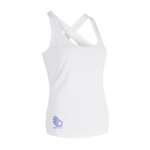 Damen Tank Top/Shirt Sensor COOLMAX FRESH PT HAND white 17100032, Sensor