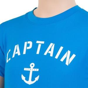Kinder T-Shirt Sensor COOLMAX FRESH PT ANKER blue 17100042, Sensor