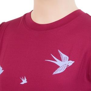 Kinder T-Shirt Sensor COOLMAX FRESH PT SWALOW lilla 17100044, Sensor