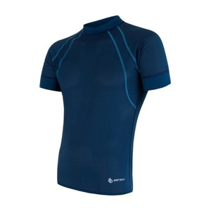 Herren T-Shirt Sensor Coolmax Fresh Air dark  blue 17100002, Sensor