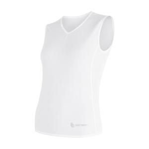 Damen Scampolo Sensor Coolmax Fresh Air V-Ausschnitt white 17100019, Sensor