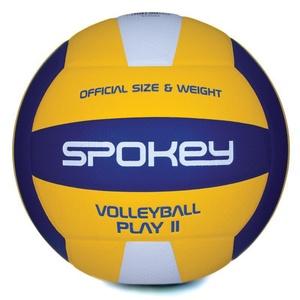 Volleyball Ball Spokey PLAY II gelb-blau vel.5, Spokey