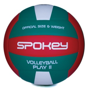 Volleyball Ball Spokey PLAY II rot-grün vel.5, Spokey