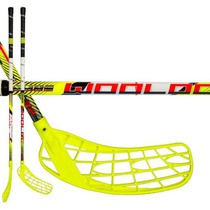 Floorball Stock Wooloc Force 3.2 yellow 75 ROUND NB '16, Wooloc