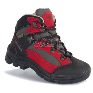 Schuhe Duras Rocker Kid II COMFORTEX rot/schwarz, Duras