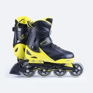 In-line Skates Spokey spooX schwarz-gelb, Spokey