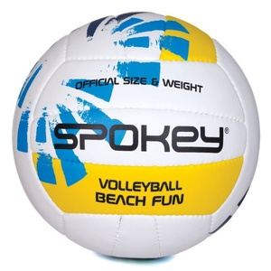 Volleyball Ball Spokey BEACH FUN blau-weiß č.5, Spokey