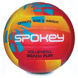 Volleyball Ball Spokey BEACH FUN rot-gelb č.5, Spokey