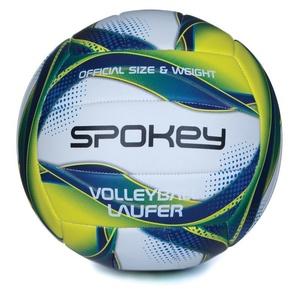 Volleyball Ball Spokey LAUFER weiß-blau-gelb rozm.5, Spokey