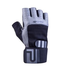 Fitness Handschuhe Spokey GUANTO II schwarz und grau, Spokey