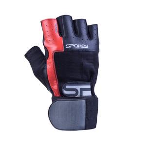 Fitness Handschuhe Spokey TORO II schwarz und rot, Spokey