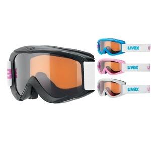 Ski Brille Uvex SNOWY PRO SET, polarweiß / schwarz / eisblau / pink, Uvex