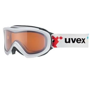 Ski Brille Uvex WIZZARD DL, white pacman double linsen- / lasergold (1022), Uvex