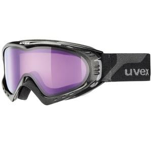 Ski Brille Uvex F 2, black meth/ psycho (2124), Uvex