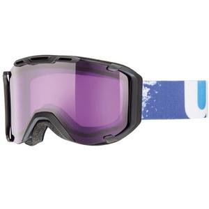 Ski Brille Uvex UVEX SNOWSTRIKE, black mat / psycho (2224), Uvex