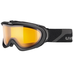 Ski Brille Uvex UVEX COMANCHE, black mat / lasergold Lite (4229), Uvex
