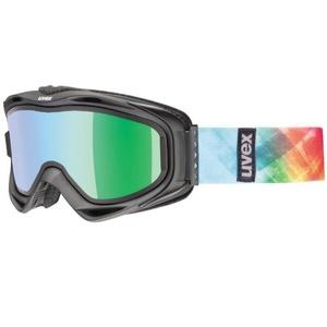 Ski Brille Uvex G.GL 300 TAKE OFF, black mat / litemirror green (2126), Uvex