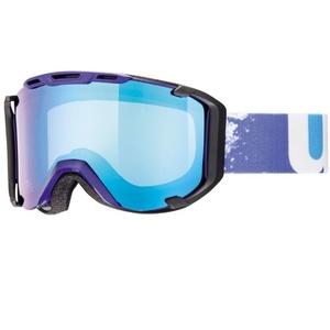 Ski Brille Uvex SNOWSTRIKE VM, indigo / variomatik / litemirror blue (4023), Uvex