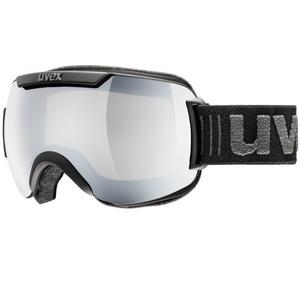 Ski Brille Uvex ABWÄRTS 2000, black double linsen- / litemirror Silver (0326), Uvex