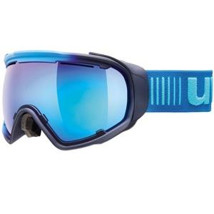 Ski Brille Uvex Jakki SPHERE, eis-marine matt / mirror blue (4026), Uvex