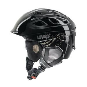 Ski Helm UVEX funride 2 LADY, schwarz / gold (S566150260*), Uvex