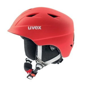 Ski Helm UVEX airwing 2 PRO, red Mat (S566132300*), Uvex