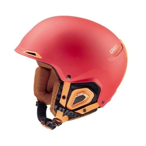 Ski Helm UVEX UVEX Jakki +, rot-orange Mat (S566182380*), Uvex