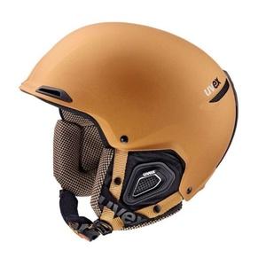 Ski Helm UVEX Jakki +, kupfer-schwarz Mat (S566182800*), Uvex