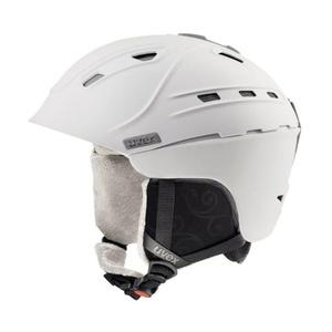 Ski Helm UVEX P2US WL, satin-weiß Mat (S566178100*), Uvex