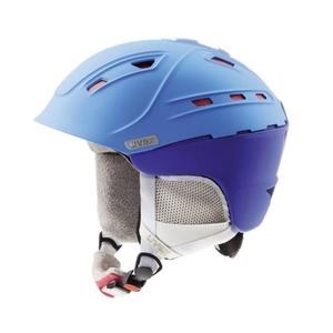 Ski Helm UVEX P2US WL, blau-rot Mat (S566178430*), Uvex