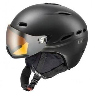 Ski Helm UVEX HLMT 200, black Mat (S566176440*), Uvex