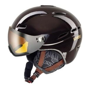 Ski Helm UVEX HLMT 200 WL, schokolade (S566183800*), Uvex