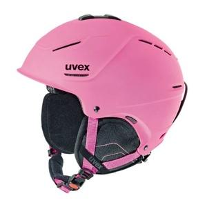 Ski Helm UVEX P1US, Pink Mat (S566153910*), Uvex