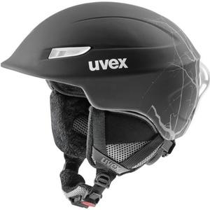 Ski Helm UVEX GAMMA, black Flash Mat (S566189210*), Uvex