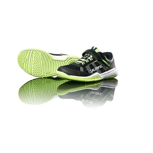 Schuhe Salming Natter Kid Black/Green, Salming