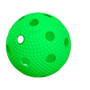 Floorball Ball Salming Aero Plus Ball green, Salming
