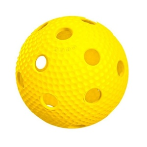 Floorball Ball Salming Aero Plus Ball yellow, Salming